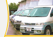 Photo of white Mazda Bongo